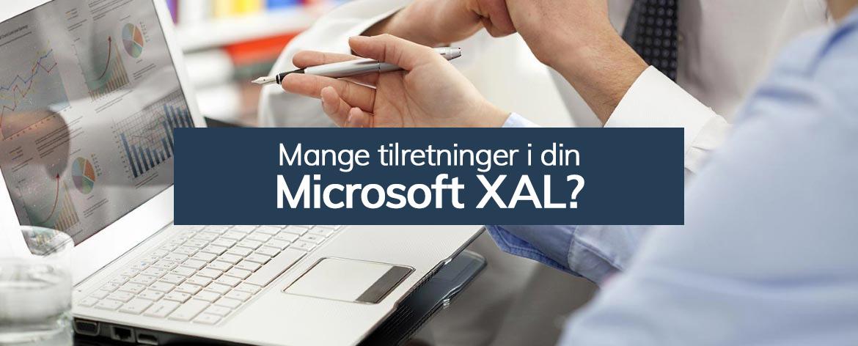 Brug for assistance til din Microsoft XAL