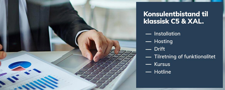Konsultentbistand til klassisk Microsoft XAL